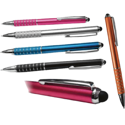 Bolígrafo aros touchpad