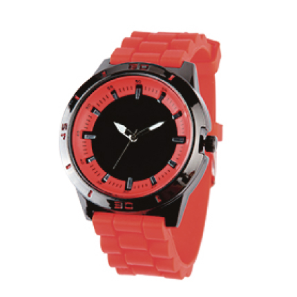 reloj sport rojo