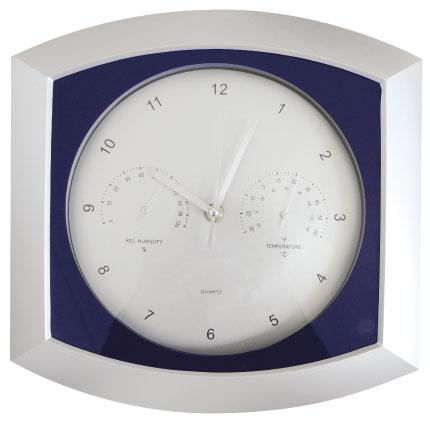 Reloj con temperatura y húmedad