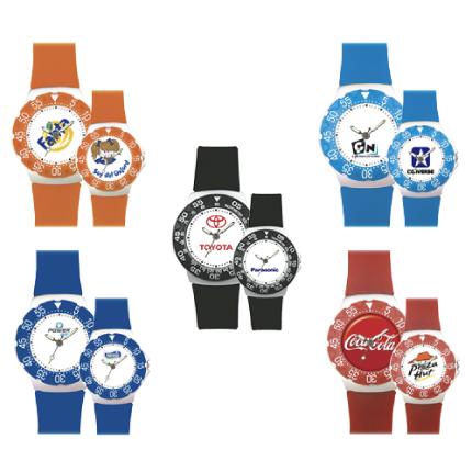 Reloj arillo giratorio