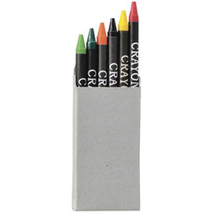 Caja 6 crayones