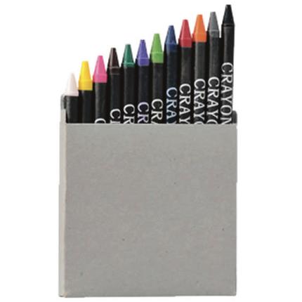 Caja 12 crayones