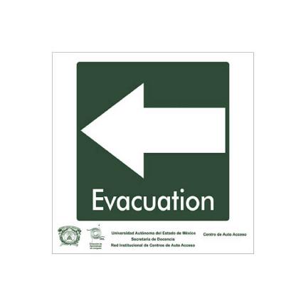 Señal de Evacuación