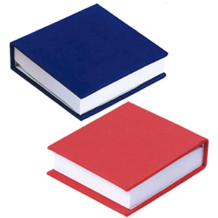 Libreta con notas adhesivas