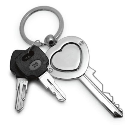 llave corazón