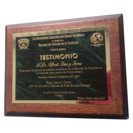 reconocimiento base de madera