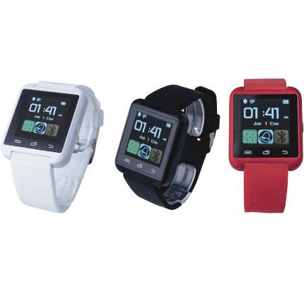 reloj con smart y podometro