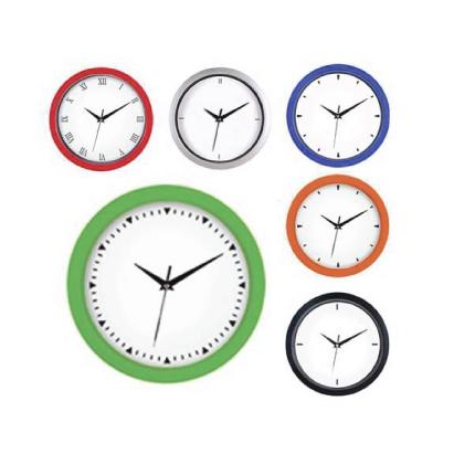 Reloj plástico de pared