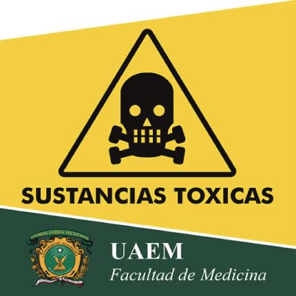 Señal de Precaución Sustancias Tóxicas